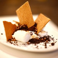 The s'mores dessert