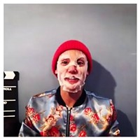Gab Bonesso, masked