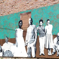 """""""The Vanguard,"""" a photo montage of Hill District residents from past and present, by Njaimeh Njie"""