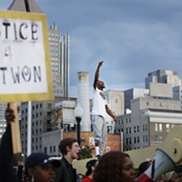 Protest following the shooting death of Antwon Rose II