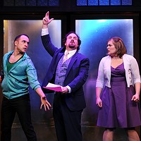 Musical comedy <i>The Double-Threat Trio</i> is fun but flimsy
