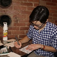 At Pittsburgh Comics Salon workshops, experimentation is key; drawing skills not so much