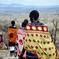 Black, white, and red all over: Tereneh Idia on the meaning of color in Maasai culture