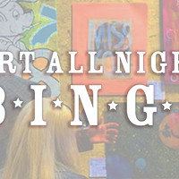Spot Art by Somebody You Know and win CP's Art All Night Bingo