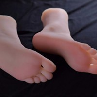 Bizarre sex toy feature has foot fetishists walking in the other direction