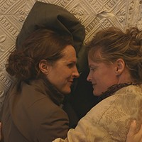 Emily Dickinson (Molly Shannon) and her longtime partner, Susan (Susan Ziegler)