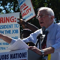 Bernie Sanders' campaign is rallying support for upcoming UPMC strike