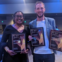 <i>Pittsburgh City Paper</i> 2019 Golden Quill award winners Tereneh Idia and Jared Wickerham