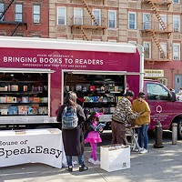 Poetry to the People tour will give out free books outside of Carnegie Library-Main.