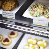 Sweets on display at Mediterra Café