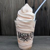 Arsenal Cider House's alcoholic sorbet is not your mother's drunken dessert