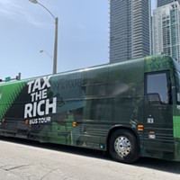Tax the Rich Bus Tour comes to Schenley Plaza on Tuesday