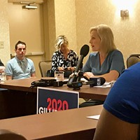 Kirsten Gillibrand speaking in Pittsburgh