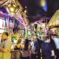 Caption: Tiki Lounge in the South Side