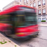 What's the status of Pittsburgh's Bus Rapid Transit line?