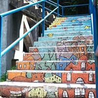 Four neighborhoods to install new public art on city steps