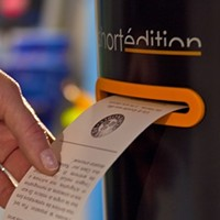 Carnegie Mellon University now has a vending machine dispensing short stories