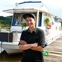 The simple pleasures and difficulties of life on a houseboat