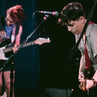 Mal Blum on stage at Mr. Smalls Theatre on Tue., Aug. 13, 2019