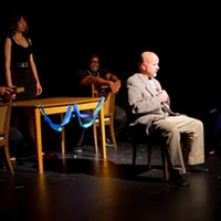 "A scene from 2018 PNWF play ""I Forgot To Worry"" by Lawrence Paone."