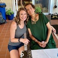 Sara Booz and Marylou Hunt