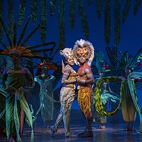 Nia Holloway and Jared Dixon in <i>The Lion King</i>