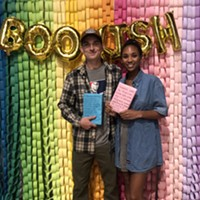 CP's Jordan Snowden at the Bookish in the 'Burgh 2020 Announcement Party