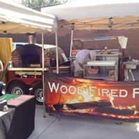 Wood Fired Flatbreads is a traveling enterprise specializing in super-fast pizzas