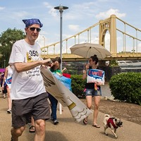 Pittsburgh 350 climate activists march ahead of Paris talks