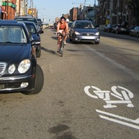 Two bikers harassed by driver on Butler Street, biking advocates seek improvements