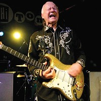 At 78 and with myriad health issues, surf-rock legend Dick Dale plays through the pain