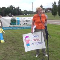 Parents protest fracking near Pennsylvania school