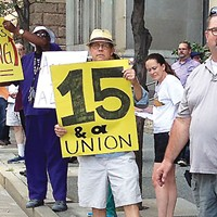UPMC hospital service workers have been trying to form a union for three years. Are they any closer?