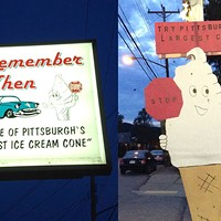 "Remember When Ice Cream in Windgap serves ""Pittsburgh's Largest Ice Cream Cone"""