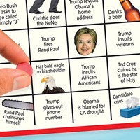 Time to Play Republican Primary Debate Bingo Again