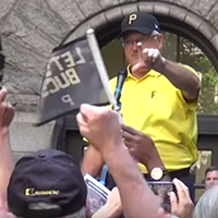 City holds Pittsburgh Pirates rally ahead of Wildcard game
