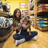 Allison Stetz and Hippo at Best Local Pet Store Petagogy