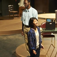 "Christopher Collier and Anna Chen in ""Water by the Spoonful"""
