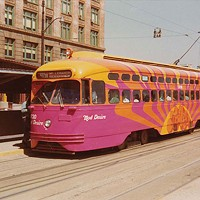 Harking to 1972's Mod Trolley, the Port Authority and the Carnegie roll out retro buses and a new exhibit
