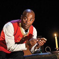 A one-man show tells the story of the first black Briton to vote — in 1774