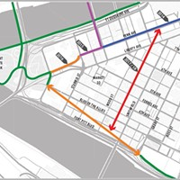 City reveals preliminary plans for new bike infrastructure Downtown