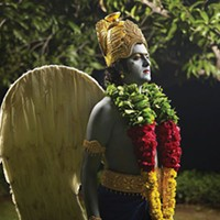 Krishna and costumed school children are the subjects for Nandini Valli Muthiah
