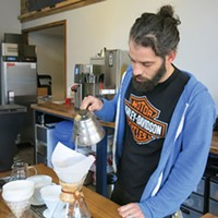 The Mexican War Streets' Commonplace Coffee manager Frank Battista