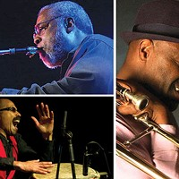 Saxophonist Hamiet Bluiett lends his distinct style to the Ethnic Heritage Ensemble