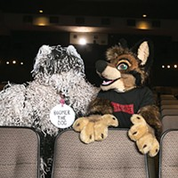 """Boomer the Dog and Dominic """"Video the Wolf"""" Rodgriguez"""