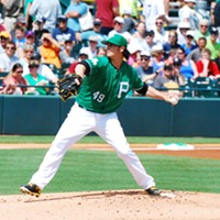 Pittsburgh Pirates pitcher Jeff Locke tunes out the noise while he fine-tunes his game