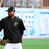 Francisco Liriano at Pirates spring training