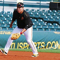 Jung Ho Kang at Pirates spring training