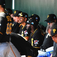 Inside the Pirates dugout