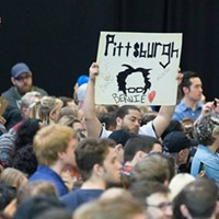 Bernie Sanders speaks to thousands at Pittsburgh rally